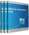 Genie Backup Manager Professional v8.0 3PC