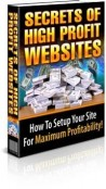 Secrets to High Profit Websites - Full Version