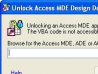Unlock Access MDE Design - Full Version