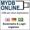 Bookmarks and Login Organizer MYDB