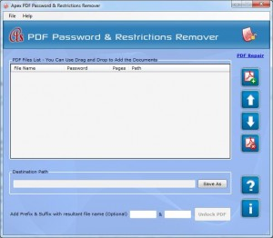 Apex PDF Password & Restrictions Remover - Site License