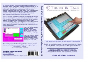 Touch & Talk - Speech Communication Software