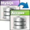 Viobo MySQL to Access Data Migrator Bus.