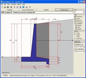 retainwall a retaining wall engineering design software