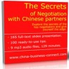 The Secrets of Negotiation with Chinese partners
