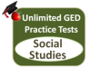 Unlimited GED Social Studies Practice Tests