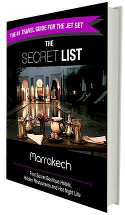 Marrakech Travel Guide Book Secret List