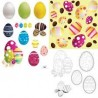 Easter Egg Graphic Shapes for Photoshop, PSP etc - Pack 31