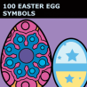 Easter Egg Symbols for Illustrator - Pack 94