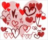 Heart Brushes for Photoshop and Elements - Pack 94