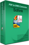 Sothink PDF to DWG Converter