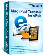 Tipard Mac iPad Transfer for ePub