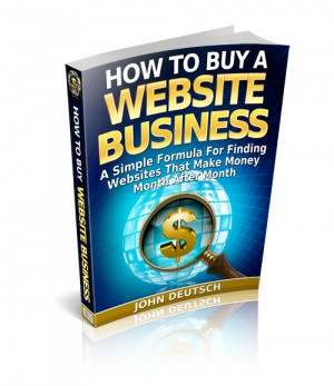 How To Buy A Website Business