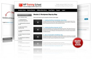 Wordpress Training Videos - With Resell Rights