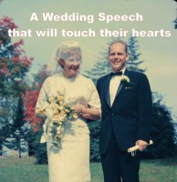 A Wedding Speech That Will Touch Their Hearts