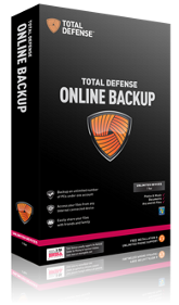 Total Defense Online Backup 50 GB - UK Annual