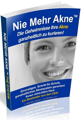 Nie Mehr Akne (tm) : Acne No More (tm) In German!