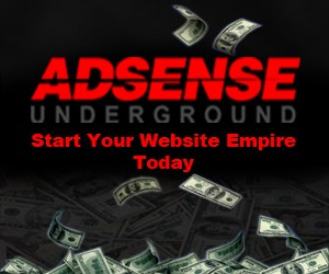 Adsense Underground - Give Your Customer Their Own Online Empire
