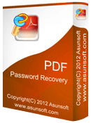 Asunsoft PDF Password Recovery