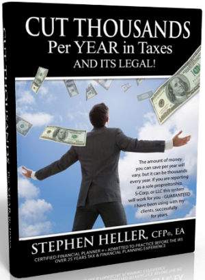 Cut Thousands Per Year In Taxes And Its Legal!
