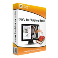 DjVu to Flipping Book