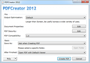 PDFCreator 2012 1 Computer + 1 Year Single License