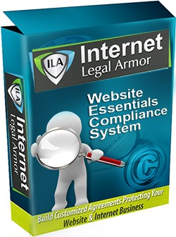 Internet Legal Armor's Website Essentials Compliance System