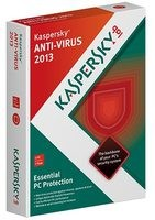 Kaspersky Anti-Virus 2013 - 1 Year - 3 Devices
