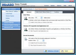WinASO EasyTweak (5 computers, 2-year license)