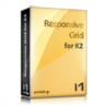 Responsive Grid for K2 / 1 year subscription