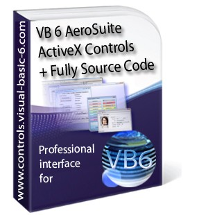 Visual Basic AeroSuite Controls Fully Source code Full Version