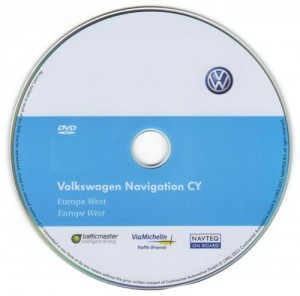 Volkswagen Navigation RNS510 Western Europe v9 CD 7918 Full Version