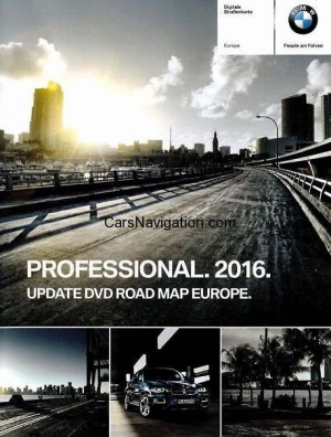 2016 BMW Navigation DVD Road Map Europe PROFESSIONALWESTERN Full Version