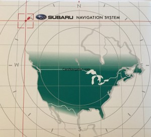 2016 Subaru North America Navigation Maps DVD Full Version