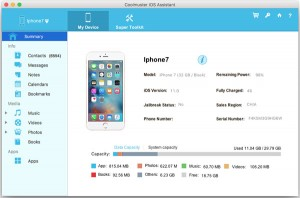 Coolmuster iOS Assistant   for Mac - Lifetime License(26-30PCs)