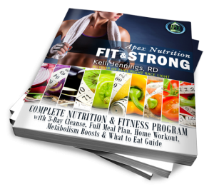 Fit & Strong Nutrition Program - Lose Weight, Get Fit, Get Healthy