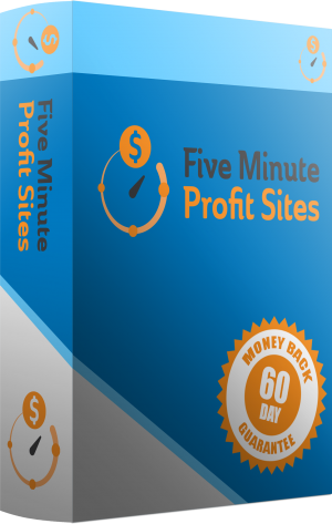 Five Minute Profit Sites - 75% Comm & Bonuses!