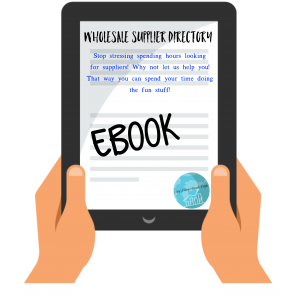 Wholesale Supplier Directory Ebook + Extras