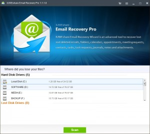 IUWEshare Email Recovery Pro
