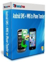 Holiday Deals Backuptrans Android SMS + MMS to iPhone Transfer (Business Edition)