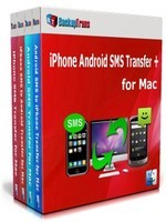 Holiday Deals Backuptrans iPhone Android SMS Transfer + for Mac (Family Edition)
