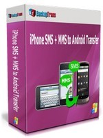 Holiday Deals Backuptrans iPhone SMS + MMS to Android Transfer (One-Time Usage)