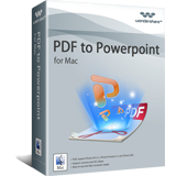 PDF Anniversary Offer 30% OFF Wondershare PDF to PowerPoint for Mac
