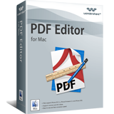 Winter Sale 30% Off For PDF Software Wondershare PDF Editor for Mac