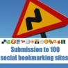 Submission to 100 social bookmarking sites!