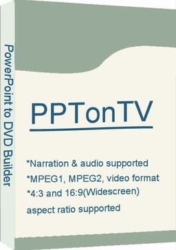 PPTonTV -- PowerPoint to DVD Builder