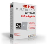 aplus xvid to apple tv