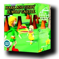 Mark and Cindy in wolf castle