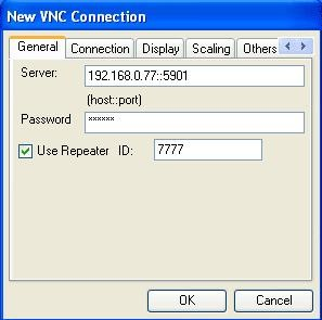 VNCViewer SDK for .NET with repeater support