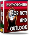 123 Synchronizer SVR 25 User for ACT! and Outlook